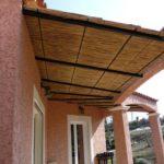 Couverture de terrasse en roseau de camargue